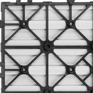 Panele kompozytowe Ultrashield deck tile Naturale tył