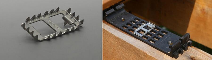 Deski kompozytowe Deck A Floor klipsy mocujące