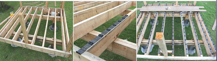 Deski kompozytowe Deck A Floor spsób montażu