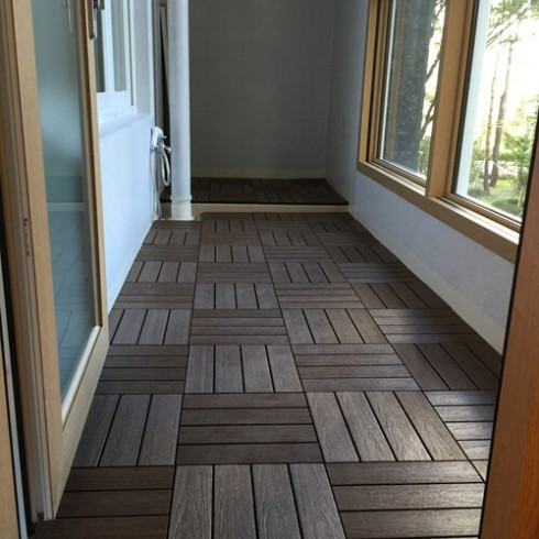 Panele kompozytowe Ultrashield Deck Tile Naturale