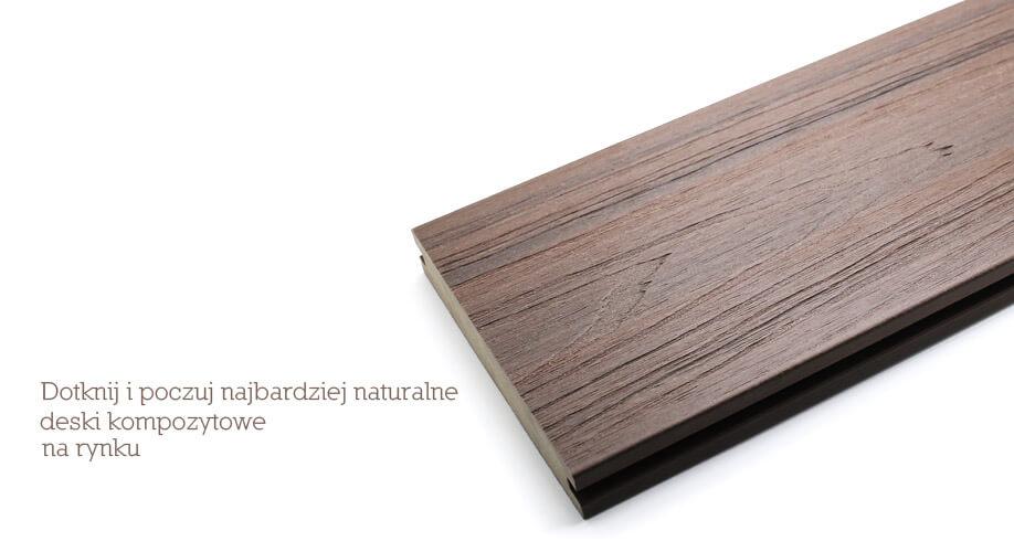 Poważnie Deski tarasowe kompozytowe Ultrashield Naturale - Tarastika PM89